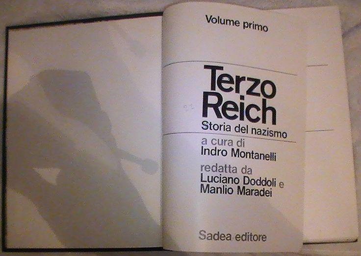 La #rubrica #letteraria - I #libri del #giorno #TerzoReich di #IndroMontanelli. #Canale di #SanTenChan http://www.youtube.com/channel/UCyfny0WCty1asAahOcRfYHA #Vi...