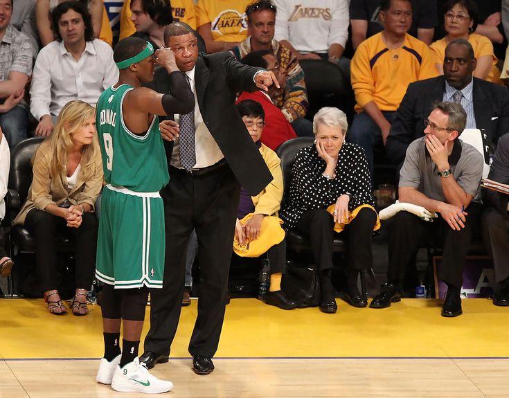 Rajon Rondo - NBA Finals Game 1:  Boston Celtics v Los Angeles Lakers