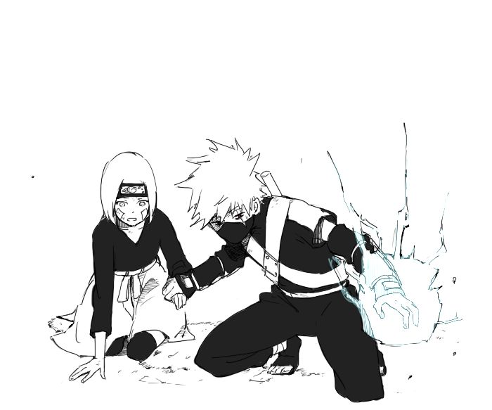 Kakarin: Rin...Obito Liked You... Loved You... You Were Important