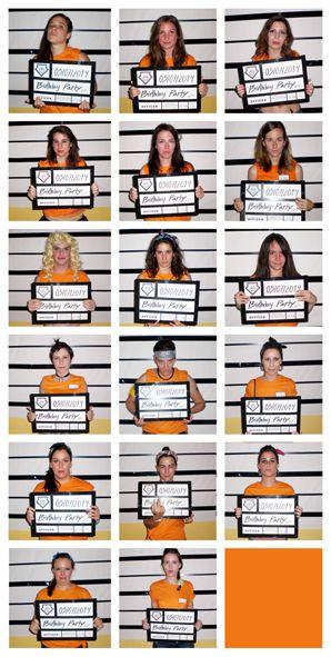 Prison Party. Orange is the new black