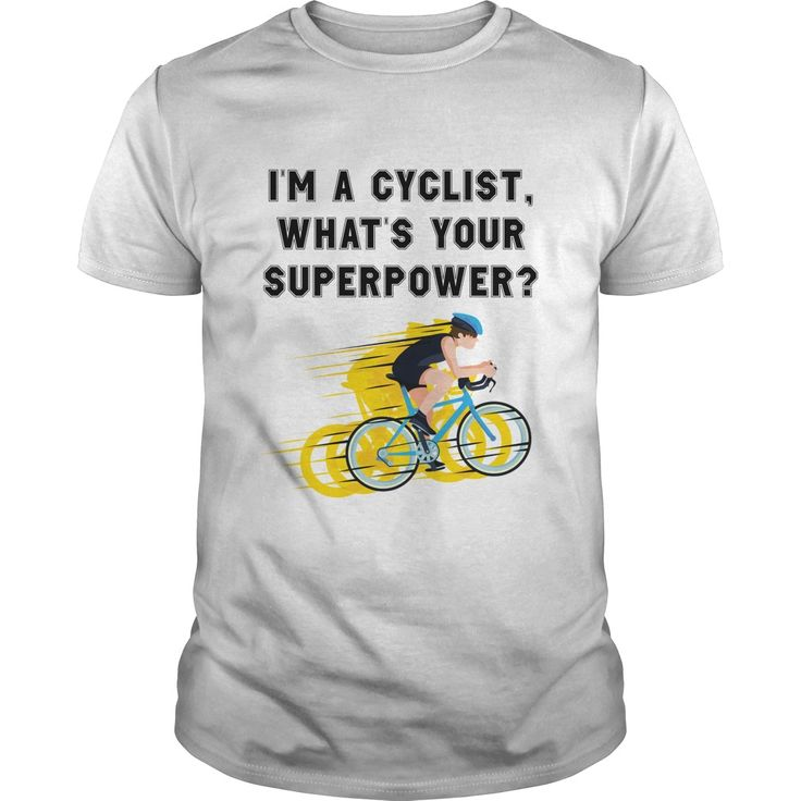 I am a Cyclist Whats your super power
