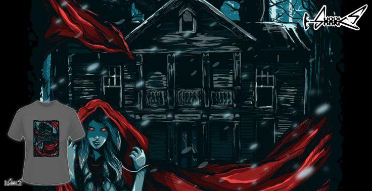 T-shirts - Design: Red Hood - by: Lou Patrick Mackay