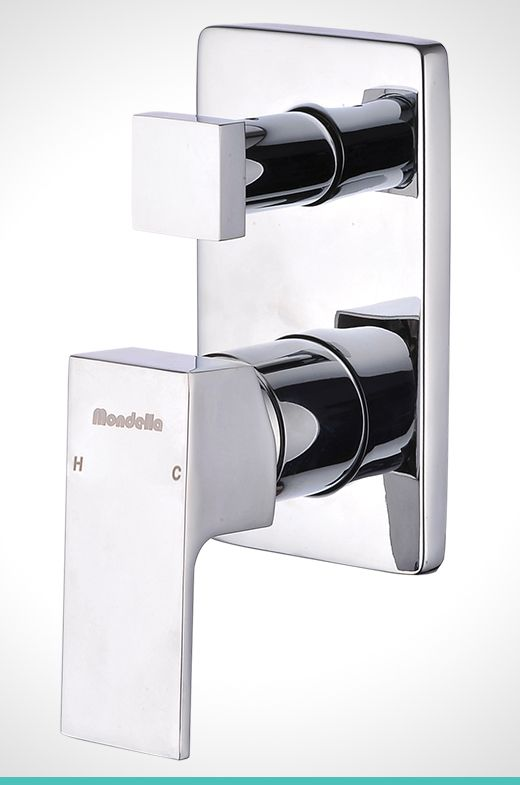 Mondella Concerto chrome diverter shower mixer