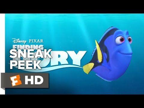 Finding Dory Official Sneak Peek #1 (2016) - Ellen DeGeneres, Idris Elba Animated Movie HD - YouTube
