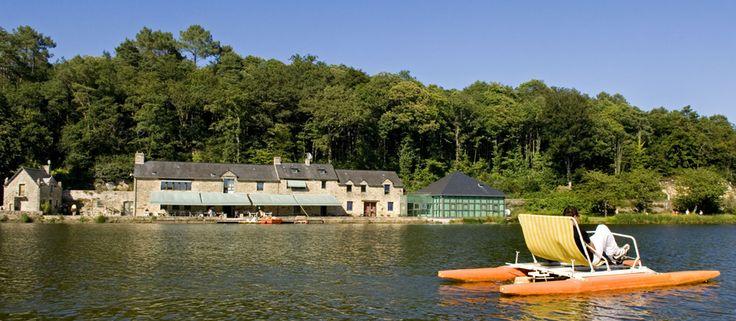 Etang du Moulin Neuf sur les communes de Malansac, Pluherlin et Rochefort-en-Terre.