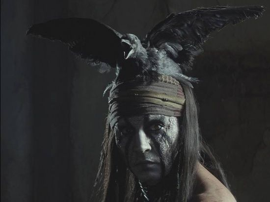 First official pictures of 'The Lone Ranger'