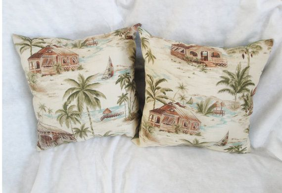 Palm Beach Style Pillows : 17 Best images about Tropical pillows on Pinterest Coral pillows, Tropical bedding and Cushion ...