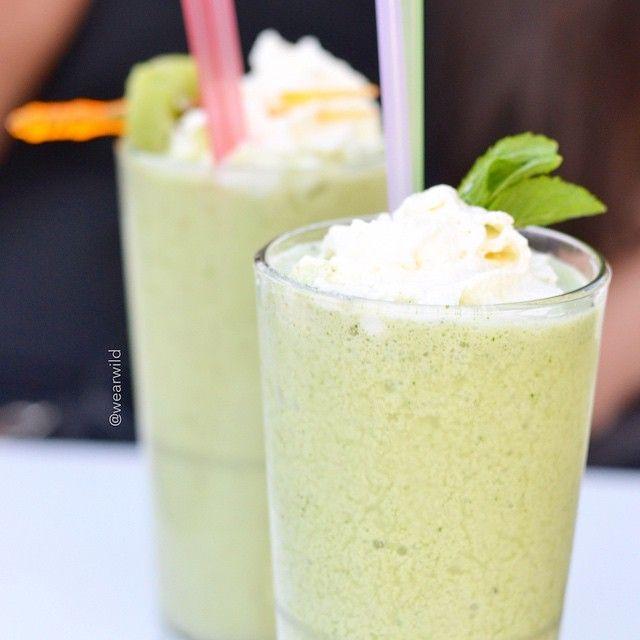 juice, milkshake, apple, mint, beverage, tasty