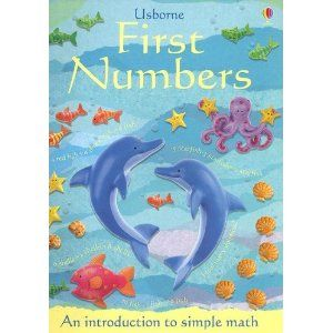 First Numbers (Usborne First Numbers) -Counting, Addition, Subtraction, Sorting, Matching, Basic Fractions