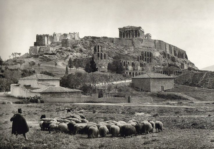 Acropolis of Athens, 1903