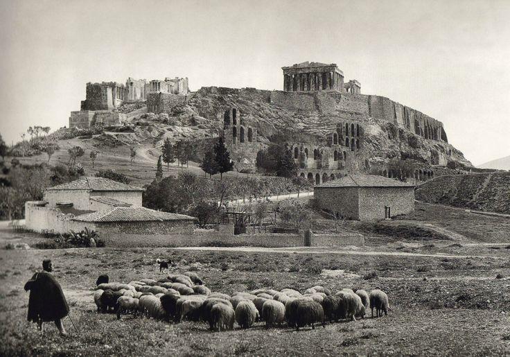 Acropolis of Athens, 1903