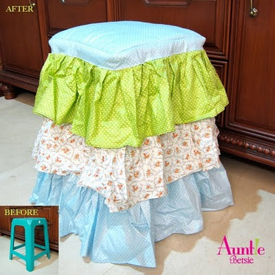 Candy Wrap (Stool Cover) US$20