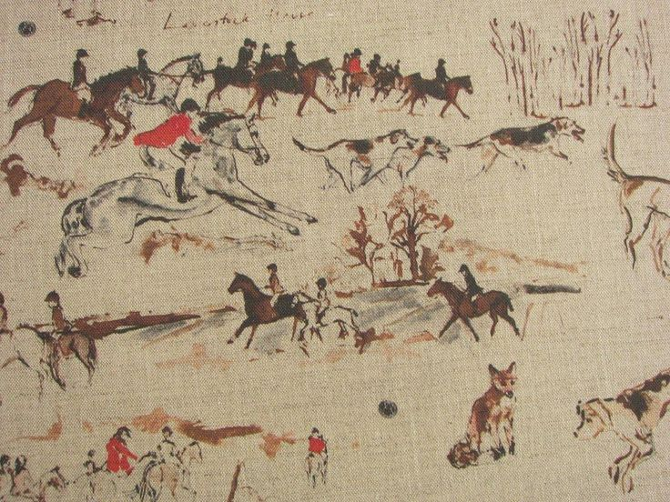 Aviva Halter Hurn Artist - Linen Fabric