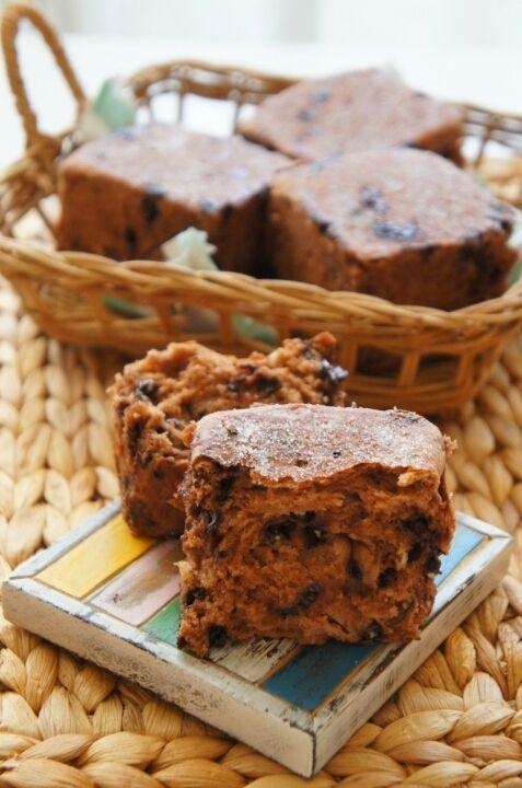 [捏ねない&発酵20分&フライパンで]キューブ型が可愛い♪チョコチップシュガーブレッド |珍獣ママ オフィシャルブログ「珍獣ママのごはん。」Powered by Ameba