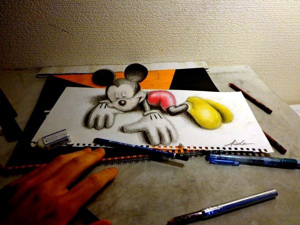 40 Mind Blowing Pencil 3d Drawings That Will Confuse Your Brain 3d Drawings 3d Pencil Drawings Drawing 3d