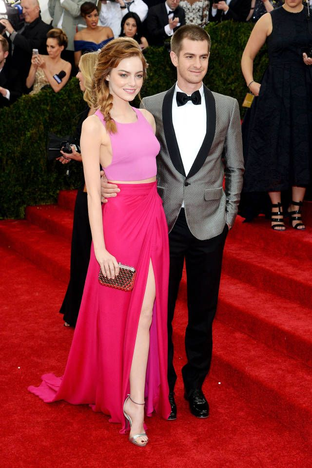 The 20 Most Stylish Couples at the 2014 Met Gala: Emma Stone and Andrew Garfield
