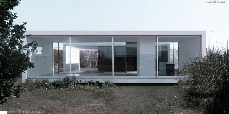 Casa suburbana en Gonnet, by Rosello-Muños-Dourado