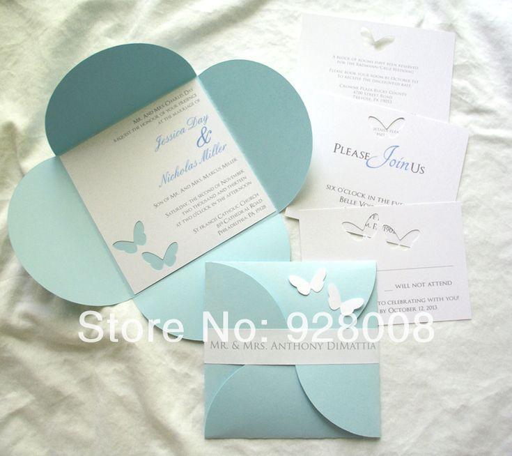 wedding cards creator online%0A Image result for baby blue laser cut wedding invitations uk