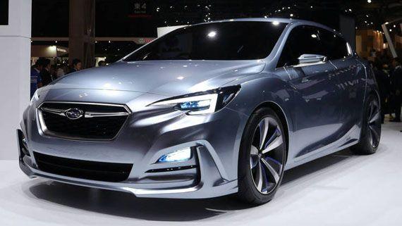 Концепт хэтчбека Субару Импреза / Subaru Impresa на Токийском автосалоне