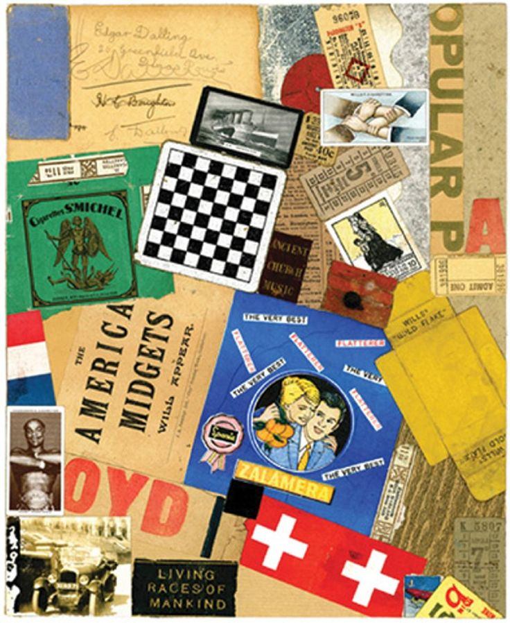 Peter Blake - Homage to Schwitters