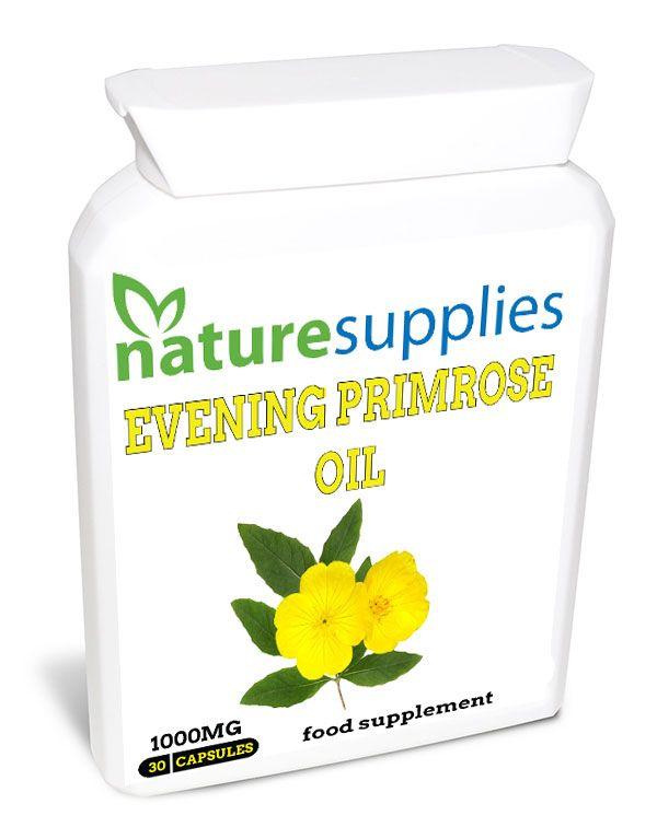 Evening Primrose Oil Capsules | Naturesupplies