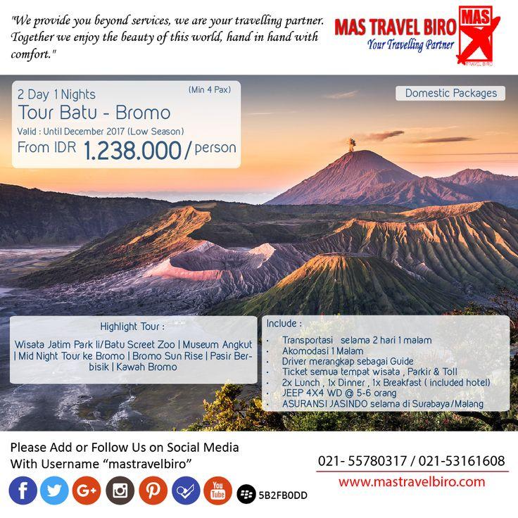Tidak dapat jadwal cuti ? ingin liburan singkat namun berkesan ? yuk pesan tour dibawah ini ;) #mastravelbiro #tour #jatim #bromo #indonesia