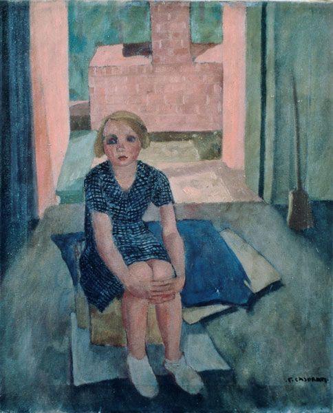 Felice CASORATI, Bambina, 1939, collezione privata