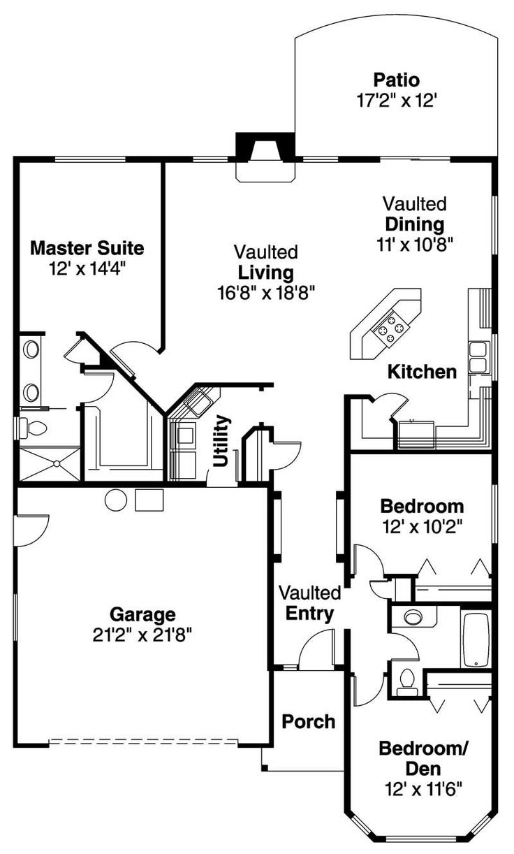 50 best house plans images on pinterest small houses house