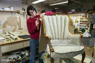 We do Reupholstery/Recovering your all kind of old Sofa and Chair by Leather or Fabric meter 55qr without making and transportation charge. Making charge depending on the work.  # Also we can make Umbrella & Sunset. # Sofa Repairing # Repainting Chair. Please call or WhatsApp to 66065536 if you interested. #rangloo, #bar, #accessories