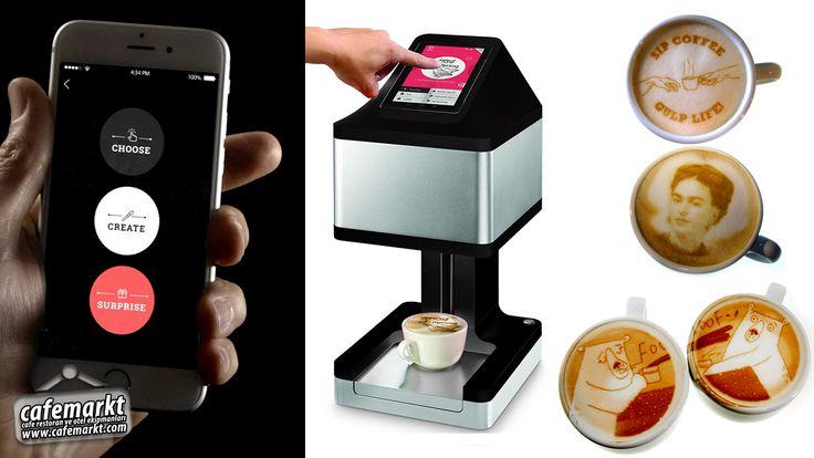 Kahve Süsleme Makinesi Ripples Geleceğin teknolojisi kahve süsleme makinesi Ripples ile tanışmaya hazır mısınız? #Cafemarkt #Ripples  #RippleMaker #KahveYazıcısı #KahveSüslemeMakinesi #KahveSüslemeMakinası