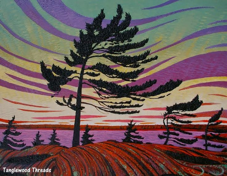 Tanglewood Threads: McMichael Gallery Autumn Sale