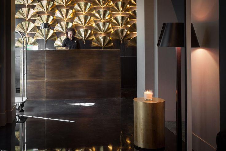 The reception at Senato Hotel Milano