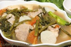 Pork Sinigang Recipe - Filipino Recipes from Lutong Filipino