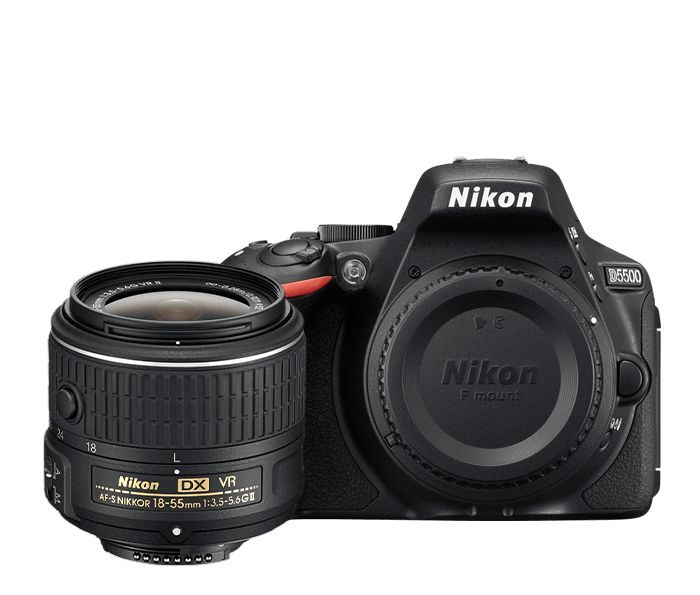 Nikon D5500 DSLR Camera (with AF-S 18-55mm VRII Kit Lens) Price in India - Buy Nikon D5500 DSLR Camera (with AF-S 18-55mm VRII Kit Lens) Online - Infibeam.com