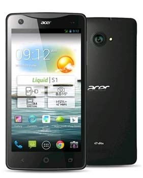 Acer Liquid S1 Duo with Dual SIM card slot - see the latest deals at PhonesLimited.co.uk #acer #acerliquids1 #liquids1duo #dualsim #android