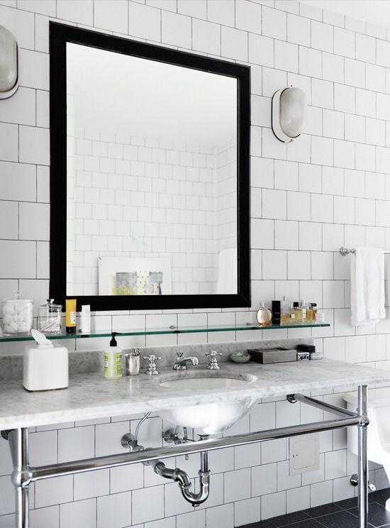 White Square Tile Bathroom 30 best bathroom images on pinterest | room, bathroom ideas and