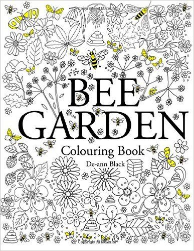 Amazon Bee Garden Colouring Book 9781908072931 De Ann