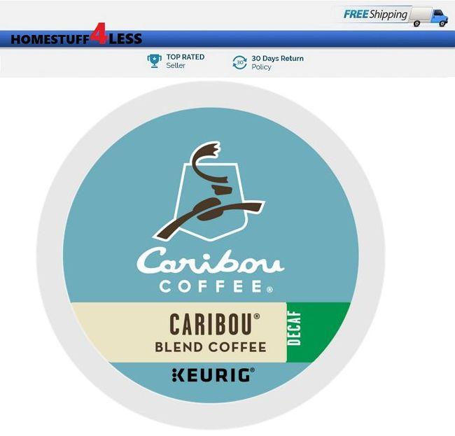 CARIBOU BLEND DECAF Keurig Coffee 24 K-cups - Ideas of ...