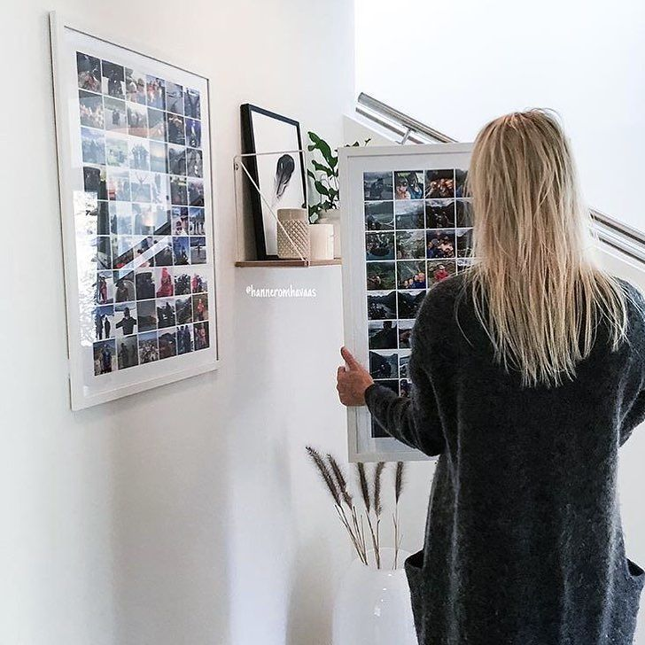 It's awesome to see that for some one memory-filled poster simply isn't enough   I hope you've had a beautiful weekend  Big hugs Gabi at Framkalla #framkallaapp #photoposter  Photo cred: @hanneromhavaas