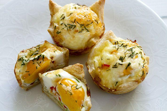 Påskefrokost – en utopisk drøm og oppskrift på egg i butterdeig