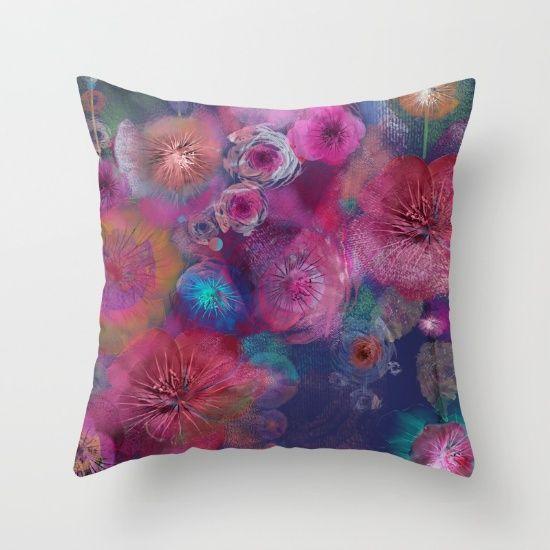 Flower carpet(59) Throw Pillow