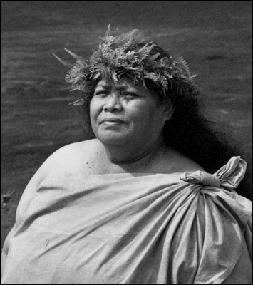 """Aunty Edith Kanaka`ole (1913-1979) taught the Hawaiian language on Hawaii island for years, and was named """"Hawaiian of the Year"""" in 1977 by the State Association of Hawaiian Civic Clubs. Her other awards and recognition include the Governor's Award of Distinction for Cultural Leadership, earned in 1979. In 1980 she was awarded the Na Hoku Hanohano Award for the Best Traditional Album Of the Year."""