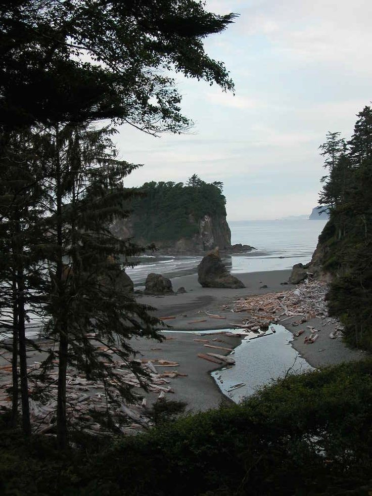 Ruby Beach On Washingtonu0027s Coast