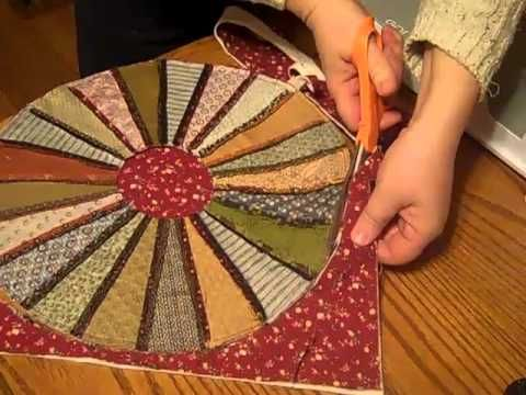 Learn how to make a candle mat using you Accuquilt Go! and your Dresden Plate die.  Find out more information at www.joscountryjunction.com
