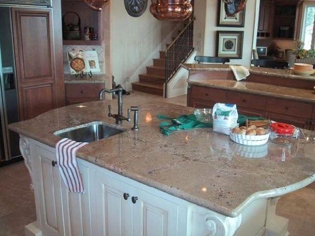 Sea Foam Green Granite Countertops My Kitchen Ideas