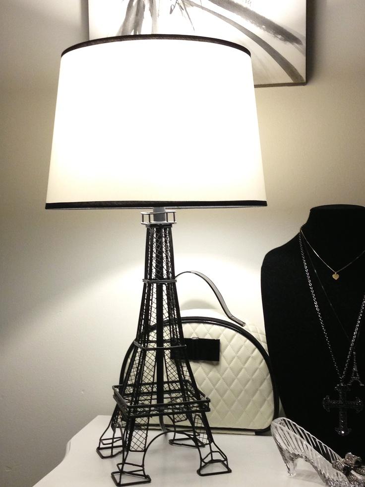 eiffel tower desk lamp shade eiffel tower pinterest shades. Black Bedroom Furniture Sets. Home Design Ideas