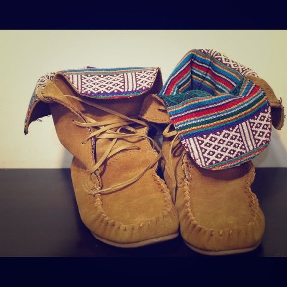 Steve Madden Moccasin Boots --- $75!!