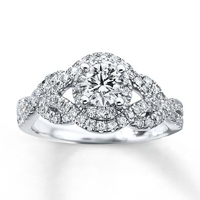 This is DEFINITELY my engagement ring! :) This is the one! :) Someone please show this to my boyfriend! ;)