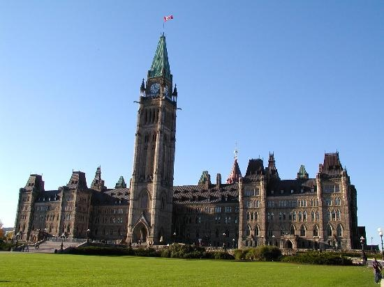 Parliament Hill, Ottowa . First place a boy asked me to go out on a date was at the top of the peace tower.