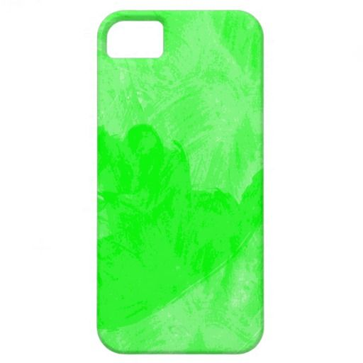 green water color paint iphone case iPhone 5 cover